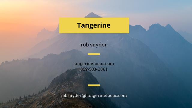 Tangerine 2017